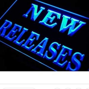 New releases here